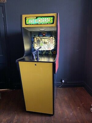 Vintage Arcade Machine Cave Of Horrors Shooting Target Range Gallery Game • 795£