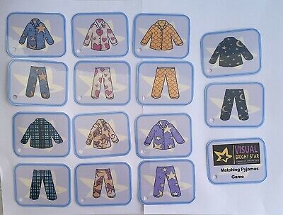 Pyjama Matching Game, Early Learning, Patterns, Colours, Learning, Preschool  • 4£