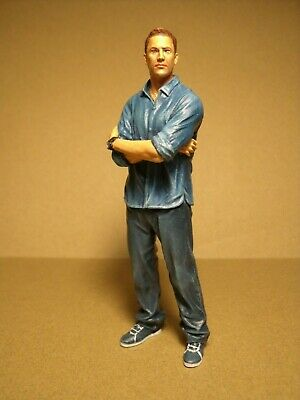 Figurine 1/18  Fast And Furious  Walker  Vroom  A Peindre  For  Mattel  • 25.85£
