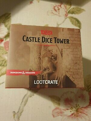Loot Crate: Dungeons And Dragons Castle Dice Tower • 15£
