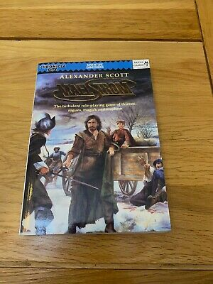 Maelstrom Rpg By Alexander Scott - Tudor Era Roleplaying. Paperback Core Rules • 1.99£