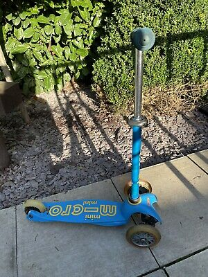 Mini Micro Deluxe Scooter Blue For Ages 2-5 Years L@@K • 0.99£