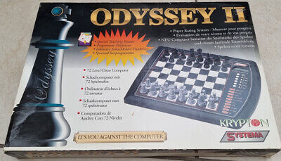 Vintage Odyssey 2 Ii Chess Computer Complete And Fully Working • 49.99£
