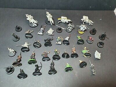 Warhammer Lord Of The Rings Fellowship Job Lot Metal/Plastic Characters  • 9.99£
