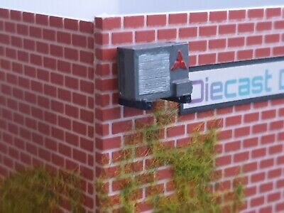 1/64 Scale Resin Workshop / Building Air Conditioning Unit Diorama • 4.29£