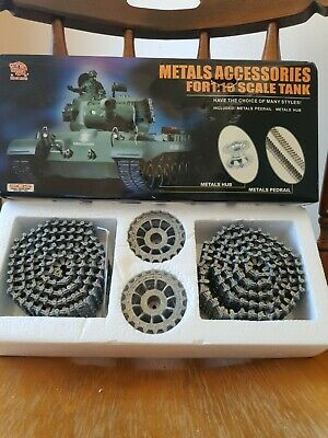 Metal Accesories For 1:10 Scale Tank • 28£
