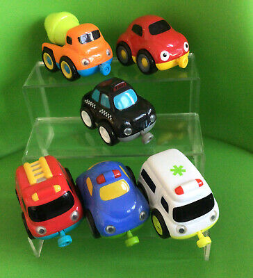 6 ELC Whizz World Magnetic Vehicles Good Played With Condition • 6£