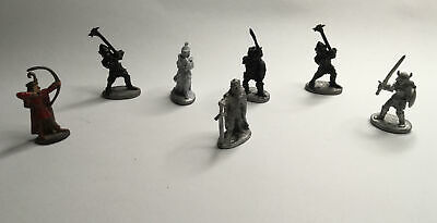 7x Rare Grenadier And Ral Partha Miniatures, 1983 To 1988 • 9£