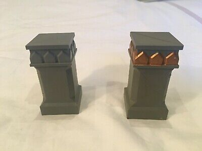 Pillars Columns - Mines Of Moria X2 Scenery - LoTR Lord Of The Rings - Warhammer • 8.50£