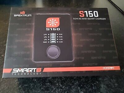 Spektrum S150 Mini Smart Charger, 2 Different Type Adapters. • 20£