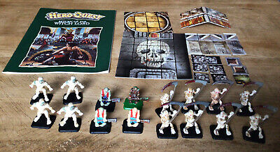 HeroQuest Return Of The Witch Lord - Complete, Unboxed. Painted Figures. • 15£