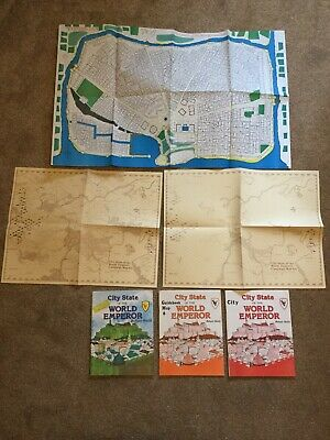 City State Of The World Emperor Judges Guild Bundle Includes Maps In Vgc • 70£