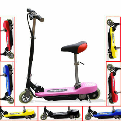 Kids Electric E Scooters 120w 24v Battery Ride On Childrens Scooter • 89.99£