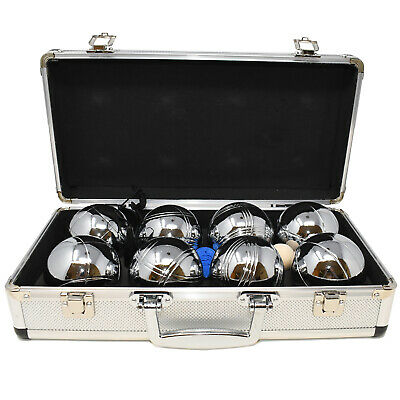 Big Game Hunters Boules In A Metal Case Rust Free Petanque Bowls Bowling Set • 39.99£