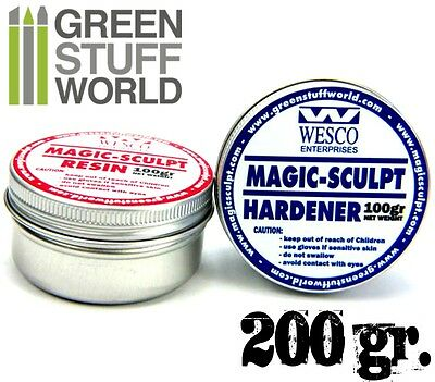MAGIC SCULPT 200gr - Modeller Epoxy Putty Clay For Modelling Sculpting Craft • 9.15£