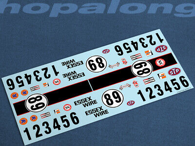 Scalextric/Slot Car 1/32 Waterslide Decals. Ws041w • 3.55£