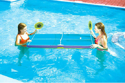 Swimline FLOATING POOL PING PONG GAME TABLE Party  137cm X 68cm 9164 Australia • 95.57£