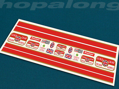 Scalextric/Slot Car 1/32 Scale Peel & Stick  Decals. Ds204 • 3.35£