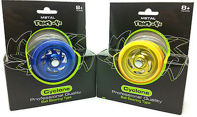 2 X Professional Quality Metal Ball Bearing & Plastic Body Trick Yo Yo • 14.99£