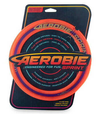 Aerobie 10  Sprint Flying Ring NEW • 9.99£