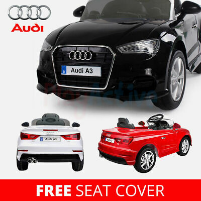 Audi A3 Licensed Kids Ride On Car 12v Twin Motor Battery 2.4g Remote Control Car • 119.99£