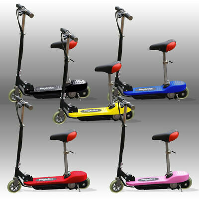 Kids E Scooters Ride On Electric 120w Battery Childrens Scooter • 79.99£