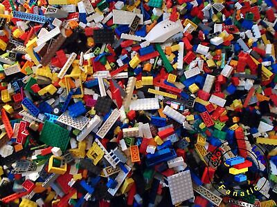 Lego 400 Pieces & 1 MINIFIGURE **OVER 5,000 SOLD** CLEAN / GENUINE Mixed Bundle • 13.99£