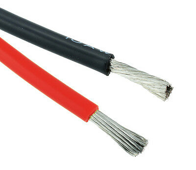 Red / Black 12AWG Silicone Stranded 680/0.08mm Wire • 2.49£