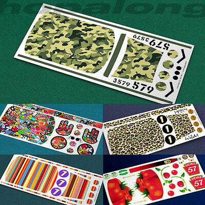 Scalextric/Slot Car 1/32 Scale 'Mini' Waterslide Decals. Various Designs. • 2.85£
