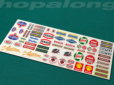 Scalextric/Slot Car Sponsor Sticker Decals X66. Ps203 • 3.20£