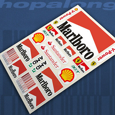 Scalextric/Slot Car 1/32 Scale Sticker Decals Rs228 • 3.25£