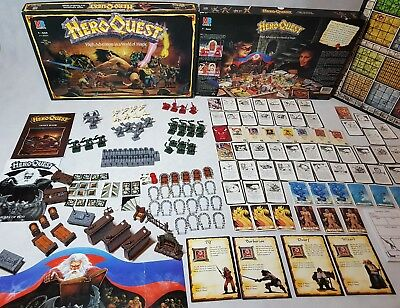 HeroQuest Board Game - Prime Condition Unpainted Complete Hero Quest [ENG, 1989] • 199.95£