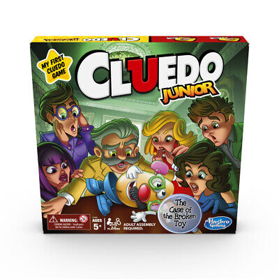 Cluedo Junior Board Game From Hasbro Gaming - NEW • 14.99£