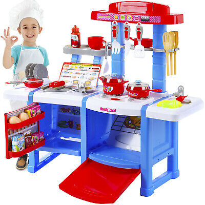 Kitchen Cooking Toys Girls Portable Electronic Children Kids Cooker Play Set • 59.90£