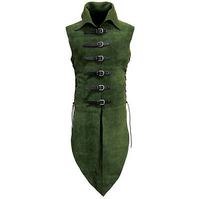 Quality Suede Elven Jerkin / Surcoat Body Armour Stage Costume & LARP  • 157£