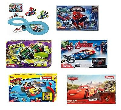 Disney / Film Superhero Characters Carrera Scalextric Track Toy Box Sets • 32.37£