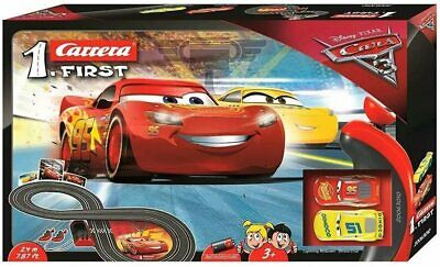 Disney Cars 1:50 Electronic Carrera Racing System Track & 2 Cars Toy Playset • 33.48£
