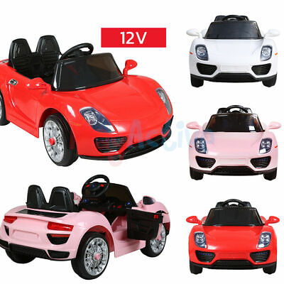 Kids Ride On 12v Electric Battery Remote Control 2.4g Toy Car • 89.99£