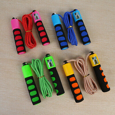 Kids/Adult Skipping Rope With Counter Jump Rope Indoor/Outdoor Activity Game • 8.99£