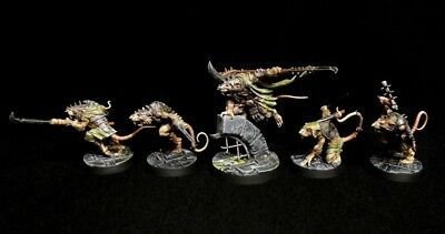 PRO-PAINTED WH Underworlds: Shadespire Spiteclaws Swarm COMMISSION 5 Models • 95.12£