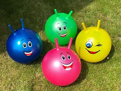 Large Inflatable Kids Space Hopper Jump Bounce Retro Ball Rideon Outdoor • 6.99£