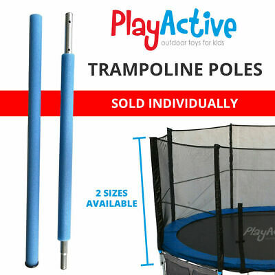 Trampoline Parts Replacement Steel Poles For Safety Net 180cm 210cm • 39.99£