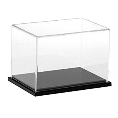 10/12/15/30cm Height Acrylic Display Case Dustproof Box Cube For Jewelry Show • 13.94£