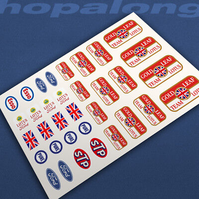 Scalextric/Slot Car Waterslide Decals. Nsw027 • 2.85£