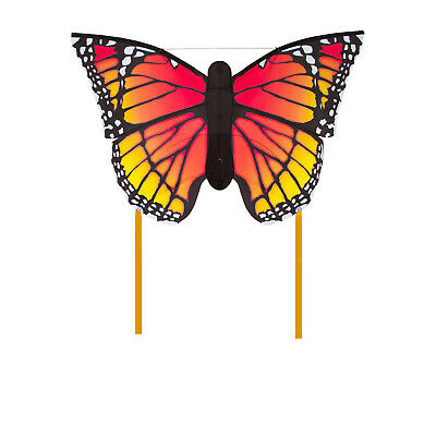 Butterfly Monarch Single Line Kite 6 Mtr Tails Ready 2 Fly • 19.99£