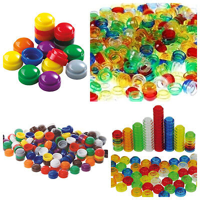 Stacking Sorting Counters Translucent Numeracy Maths Counting Activity Toy SEN  • 5.95£