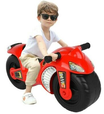 Toddler Kids Motorbike Balance Bike Motorcycle Push Along Ride On Walker Car Toy • 23.89£