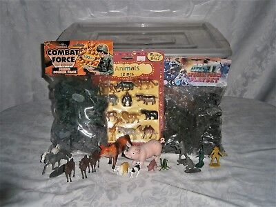Plastic Toy Soldiers Job Lot • 42£