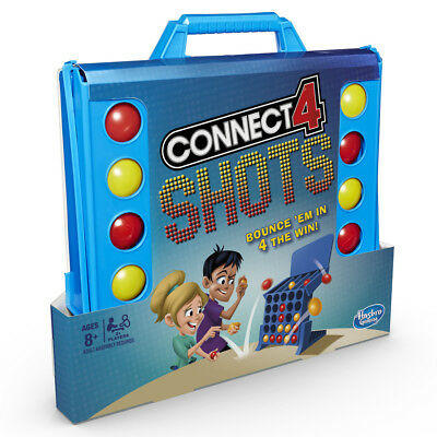 Connect 4 Shots Game By Hasbro • 15.99£