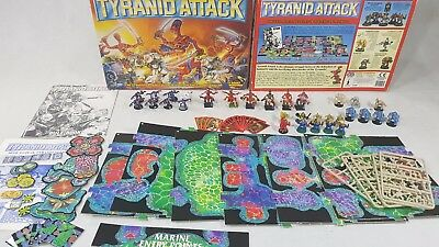 Warhammer 40k - Tyranid Attack Board Game; Complete Painted [ENG, 1992]  • 149.95£